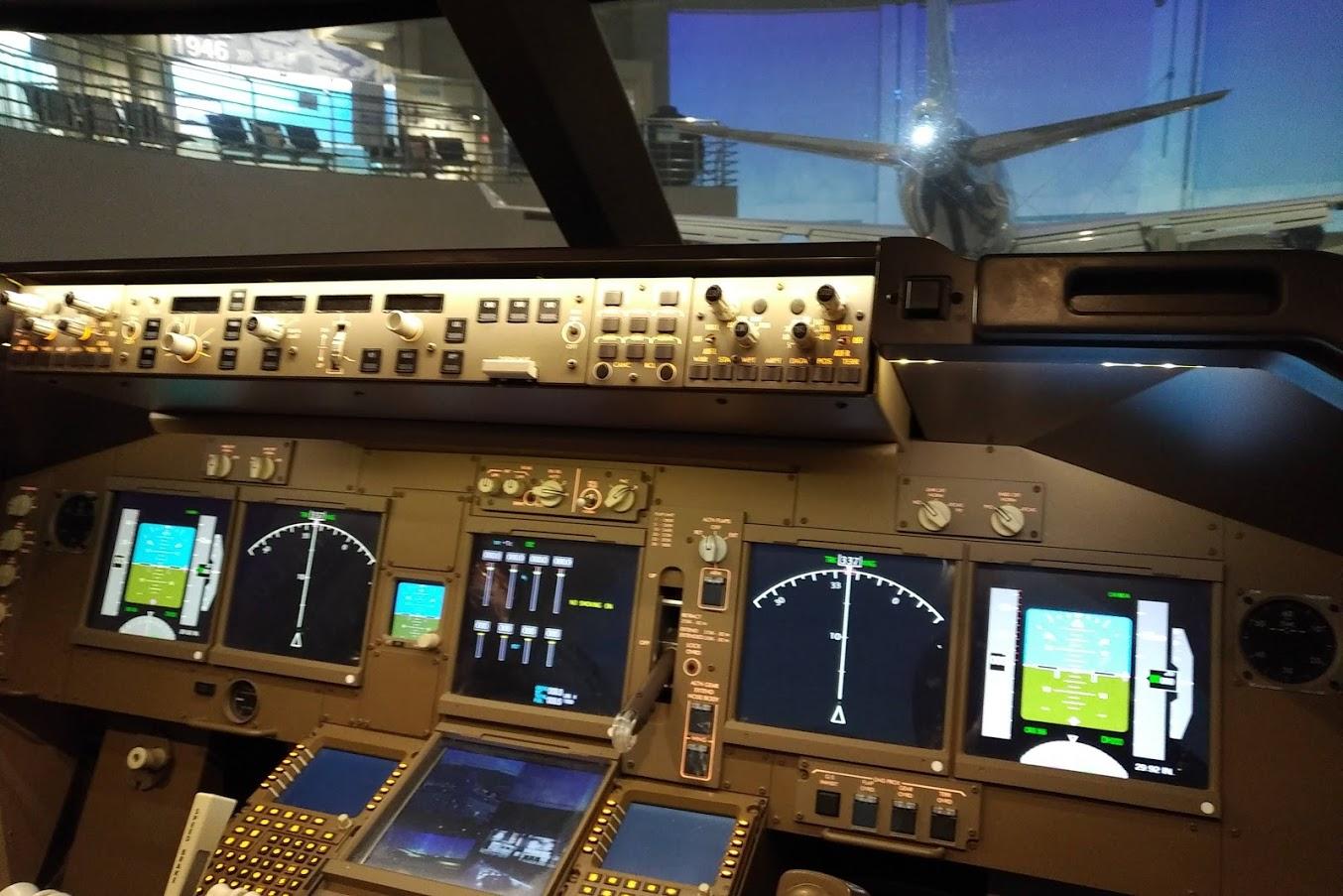 ボーイング747操縦