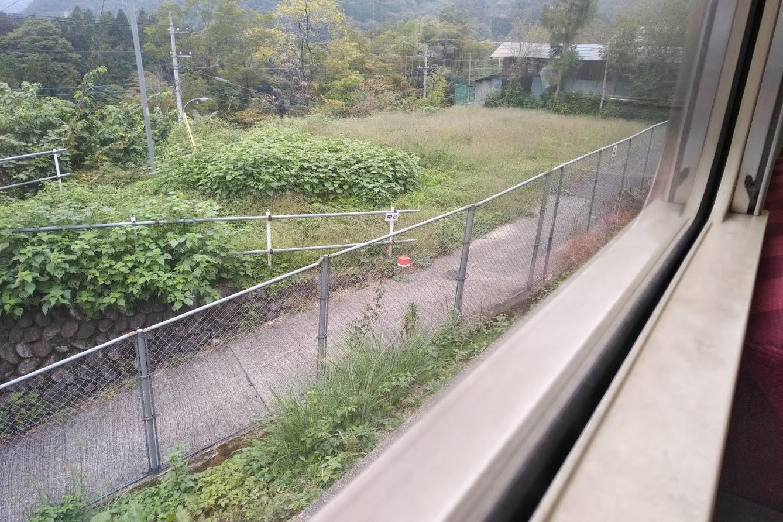 中央本線の車窓